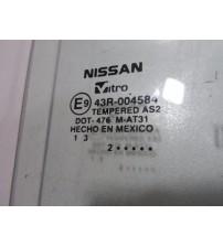 Vidro De Porta Traseiro Direito Nissan March 2011/2015 Orig.