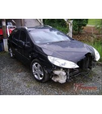 Acabamento Lateral Direito Do Painel Peugeot 407 2006/2007