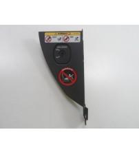 Acabamento Direito Painel C/ Interruptor Airbag Freelander 2