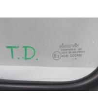 Vidro Vigia Traseiro Direito C/ Borracha Land Rover Defender