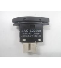 Botão Recirculador De Ar Jac J3 2011 A 2013 Original