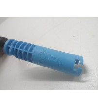 Sensor Do Abs Traseiro Bmw X3 3.0 2004 Original Plugue Azul