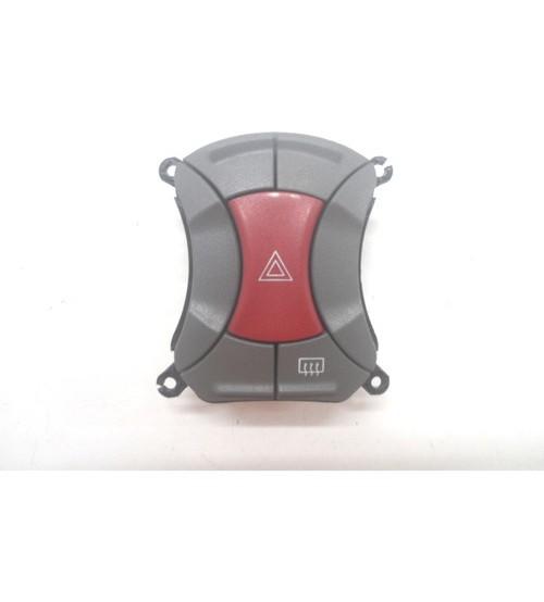 Botão Alerta Fiat Doblô C/ Desembaçador 2010 A 2020