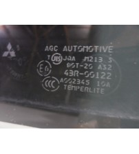 Vidro De Porta Traseira Esquerda Mitsubishi Asx 2010 A 2015